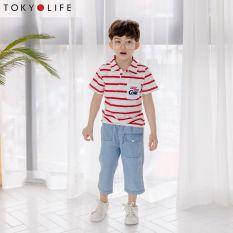 Quần jeans dáng dài bé trai E5PAN402C