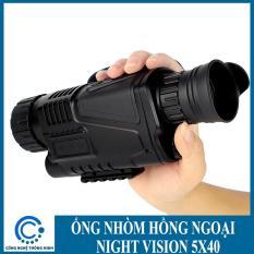 Ống nhòm hồng ngoại Night Vision 5×40 – Thách thức bóng tối – Ảnh thực tế 100%