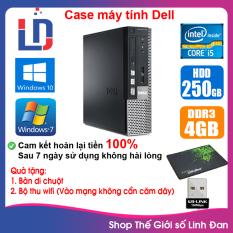 Case máy tính DEL CPU Dual Core E5xxx / Core i5-3330 / Ram 4GB / HDD 250GB-500GB / SSD 120GB-240GB [QUÀ TẶNG: Bộ thu wifi, bàn di chuột]