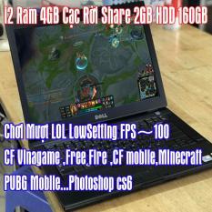 Laptop I2 Giá rẻ Sập Sàn 4GB Ram VGA 2GB Chơi LOL , CF Vinagame…