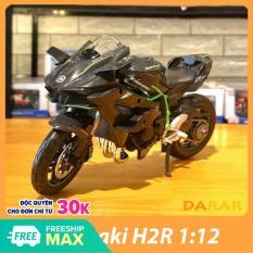 MÔ HÌNH XE MOTO Kawasaki H2R – MAISTO tỷ lệ 1:12