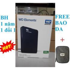 Ổ CỨNG DI ĐỘNG 320GB WD ELEMENTS