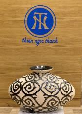 Bình hoa gốm sứ xuất dư mỹ thuật trang trí