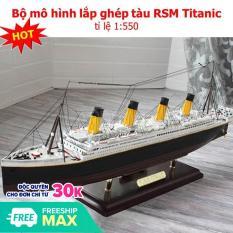 Bộ mô hình lắp ghép, Bộ Lắp Ghép Thông Minh. Bộ mô hình lắp ghép tàu RSM Titanic. Mô Hình Lắp Ghép Tàu Chất Lượng Cao , Bộ mô hình lắp ghép tàu RSM Titanic tỉ lệ 1:550 Cao Cấp.