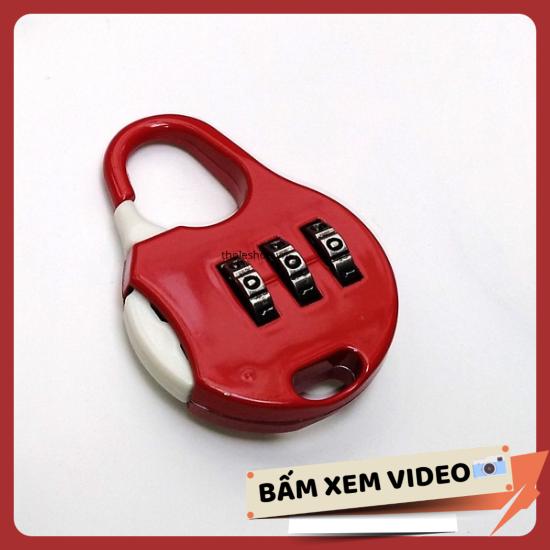 Khoá số balo – Ổ khóa mini 3 số khóa vali chống trộm – Khóa balo chống trộm – Ổ khóa mini [RẺ VÔ ĐỊCH]