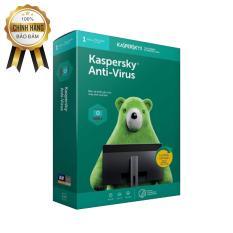 Kaspersky AntiVirus 1PC/năm chính hãng (Box) -BH 12T
