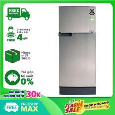 TRẢ GÓP 0% – Tủ lạnh Sharp Inverter 165 lít SJ-X176E-SL,công nghệ kháng khuẩn, khử mùi Nano Ag+,tiết kiệm điện – Bảo hành 12 tháng