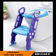 Dụng cụ thu nhỏ bồn cầu cho bé – Bệ lót bồn cầu cho bé thiết kế hình cầu thang – Bệ lót thu nhỏ bồn cầu – Ghế bệ lót ngồi vệ sinh cho bé [LẺ GIÁ SỈ]