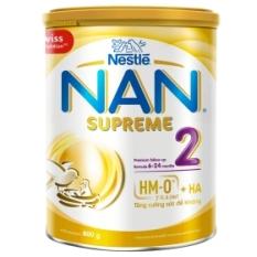 Sữa bột Thuỵ Sĩ NAN Supreme số 2 800g