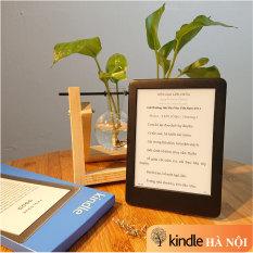 Máy đọc sách Kindle Basic 2019 – All new kindle 2019 có đèn nền, màn hình 6'' 167PPI chống khúc xạ ánh sáng, nghe Audible, bộ nhớ 4GB, kết nối wifi