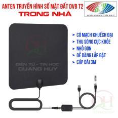 Anten DVB T2 trong nhà có mạch khuếch đại thu sóng cực khỏe