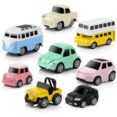 Bộ 8 Ô Tô Mô Hình Bằng Sắt MINI CAR – Đồ Chơi Cho Bé Trai