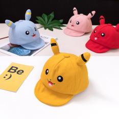 Mũ trẻ em TrueKids, nón cho bé trai và bé gái phối hình Pikachu ngộ nghĩnh