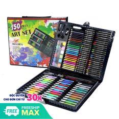 Bộ Hộp Bút Chì Màu 150 Món Cho Bé Cực Yêu