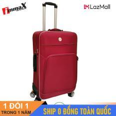 [ MIỄN PHÍ SHIP] Vali vải size 28inch immaX i005/ Vali vải cao cấp size lớn ký gửi hành lý