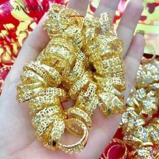 Nhẫn Kim Tiền Hút Tài Lộc – Vàng Non 4k Thỉnh Từ Chùa Thiên Hậu Malaysia