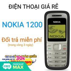 Điện thoại Nokia 1200 cho 1 SIM, hàng công ty, bao Pin + sạc