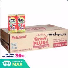 Một Thùng (12 lốc) Sữa bột pha sẵn Grow Plus+ Đỏ 180ml