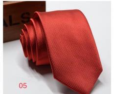 Cà vạt nam 5cm vải xéo