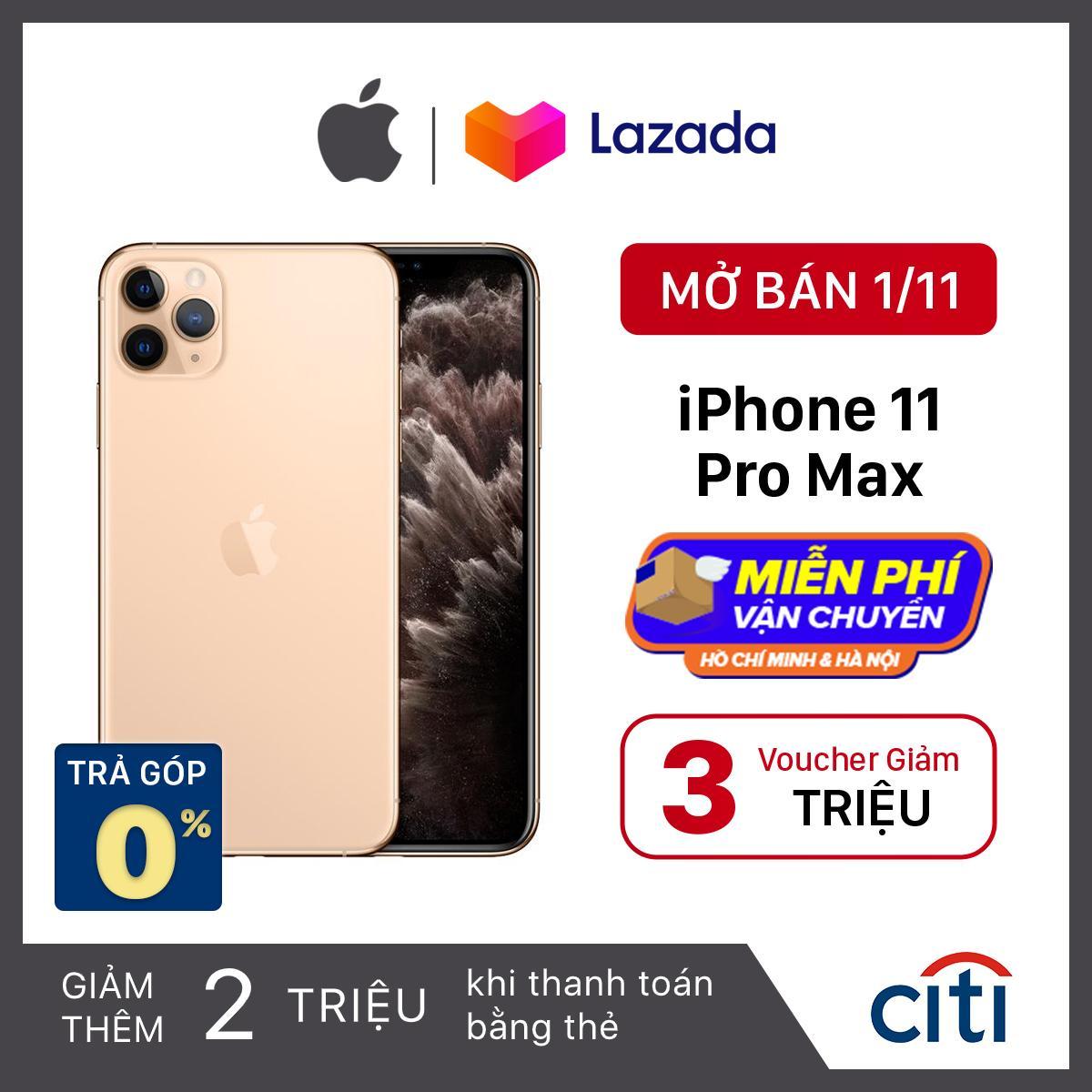 Điện thoại Apple iPhone 11 Pro Max - Phân Phối Chính Hãng VN/A - Màn Hình Super Retina XDR 6.5inch,...