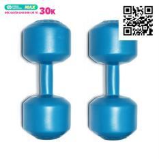 Bộ 2 Tạ tay nhựa VN 8 Kg
