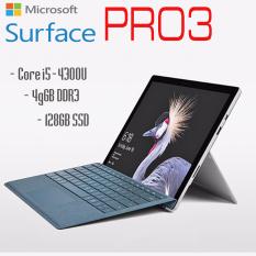 Máy tính bảng 2 tronng 1 Surface Pro 3 Core i5-4300U, 4gb Ram, 128gb SSD, 12inch Full HD cảm ứng kèm bàn phím