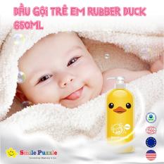 Dầu gội đầu trẻ em KHÁNG KHUẨN Rubber Duck 650ml KHÔNG CAY MẮT
