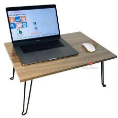Bàn laptop xếp gọn NÂU VINTANGE phong cách – bàn gỗ MDF1813
