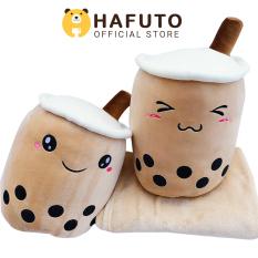 Gấu bông Hafuto | Gối mền trà sữa trân châu