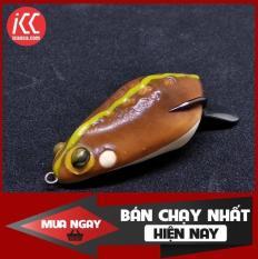 [Siêu Rẻ] Frog Toon Nguyên bản Mồi nhai giả mồi lure câu cá lóc Thái Lan