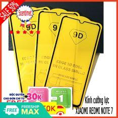 Kính cường lực XIAOMI REDMI NOTE 7 ,Kính cường lực FULL màn hình , Tặng kèm giấy lau ướt và giấy lau khô 5CENTIMET