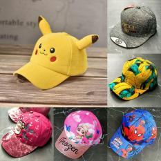 Nón/ Mũ Lưỡi Trai Hình Pikachu Cho Bé Cưng Xĩu (từ 2 – 6 tuổi)