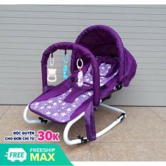 Ghế rung ăn bột có đồ chơi có bảo hiểm có điều chỉnh tư thế