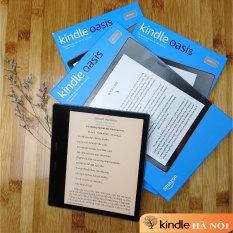 """Máy đọc sách Kindle Oasis 3 10th màn hình 7"""" 300PPI Có đèn vàng warmlight, có phím bấm và chống nước"""