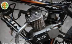 Động cơ 2 thì cho xe đạp 60cc động cơ xe đạp 60cc