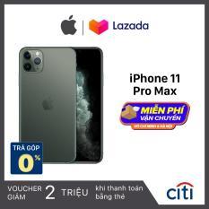 Điện thoại Apple iPhone 11 Pro Max – Phân Phối Chính Hãng VN/A – Màn Hình Super Retina XDR 6.5inch, Face ID, Chống nước, Chip A13, 3 Camera, Đi Kèm Sạc Nhanh 18W
