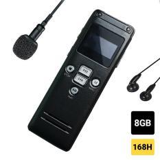 Máy ghi âm mini chuyên nghiệp GH600 – Ghi âm liên tục 168 giờ