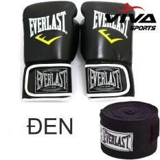 Bộ sản phẩm găng tay Boxing Size 12OZ + Băng quấn tay 5m