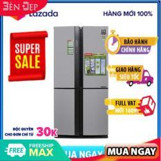 [Nhập mã EXCLUSIVE giảm thêm 10%] – [TRẢ GÓP 0%] Tủ lạnh Sharp Inverter 626 lít SJ-FX631V-SL (Miễn phí giao tại HN-ngoài tỉnh liên hệ shop)