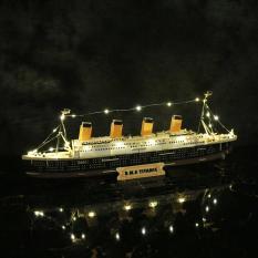 Bộ mô hình lắp ghép tàu RSM Titanic tỉ lệ 1:550