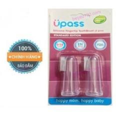 Bộ 2 rơ lưỡi xỏ ngón cho bé UPASS silicone UP4002C