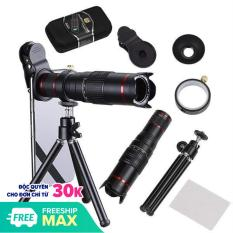 Lens chụp hình telezoom 22X cho điện thoại smartphone – Có tripod
