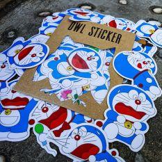 Bộ hình dán trang trí không thấm nước Doraemon Sticker siêu dễ thương
