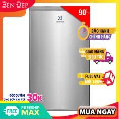 Tủ lạnh mini Electrolux EUM0900SA 90L khay kính chịu lực, đén sợi tóc, bảo hành 2 năm Chính hãng, tại nhà