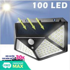 Đèn Năng Lượng Mặt Trời – Cảm Biến Siêu Sáng 3 Chế Độ Thông Minh 100 Bóng LED. Cam kết giá tốt nhất thị trường.