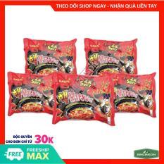 Mì gà siêu cay 2x Spicy 140g [ COMBO 5 GÓI ] SAMYANG Hàn Quốc Loại Ngon – BINZINSON