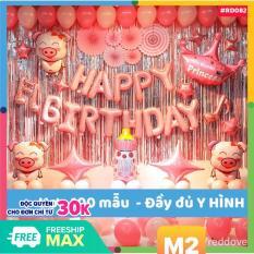 set VIP trang trí sinh nhật