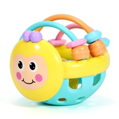 [Lấy mã giảm thêm 30%]Đồ chơi trẻ em 0-1 tuổi câu đố ong mềm teether tay rigs tay bóng đồ chơi