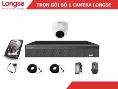 Combo bộ kit Longse 1 mắt dome nhựa 1080P-LITE