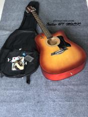 [Tặng kèm phụ kiện] Đàn guitar acoustic HT music giá rẻ sinh viên màu hoàng hôn